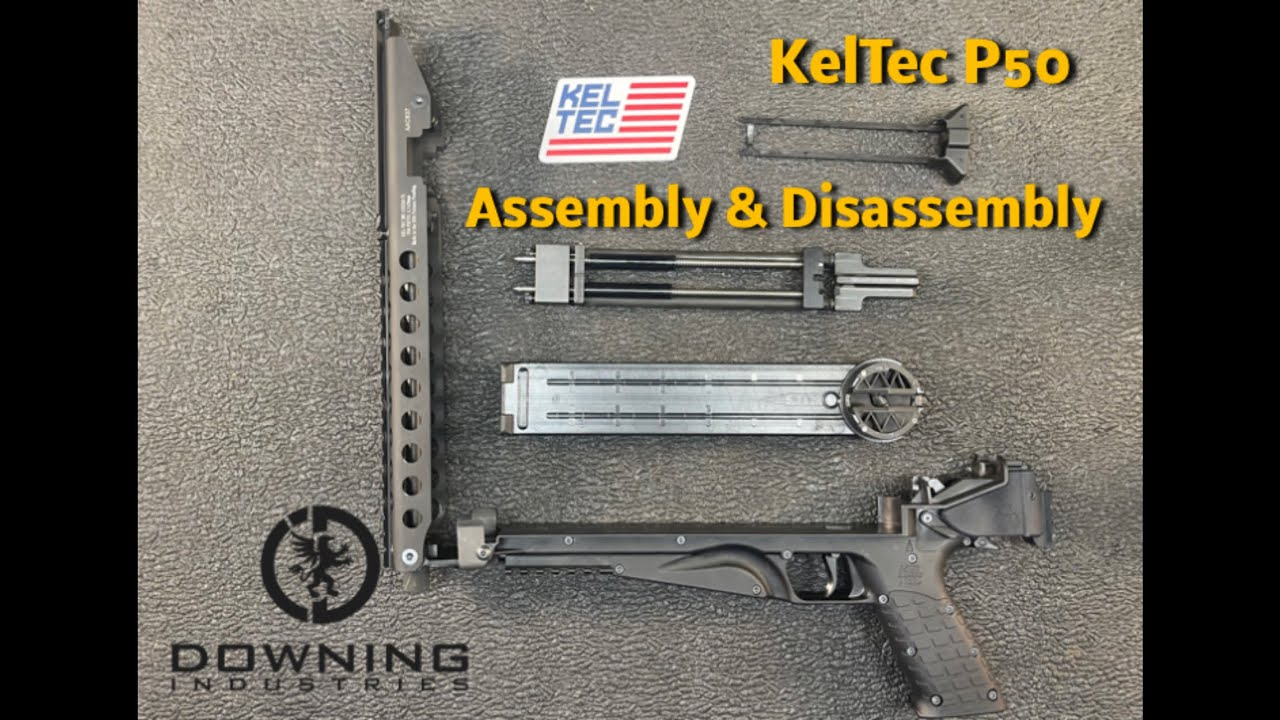 KelTec P50 Disassembly and Reassembly