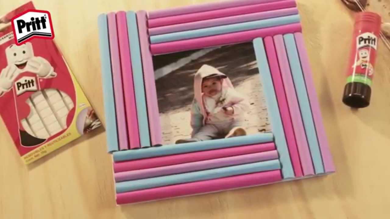 Manualidades de papel portaretratos youtube - Manualidades para ninos faciles ...