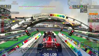 Trackmania Nations Forever gameplay