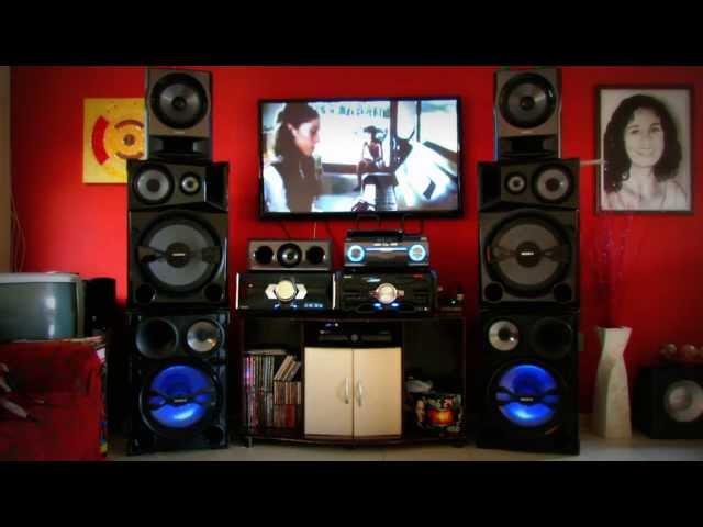 SONY Shake7 2400, SH2000 e MU.TE.KI 1835 W RMS.Um Show Travel Video