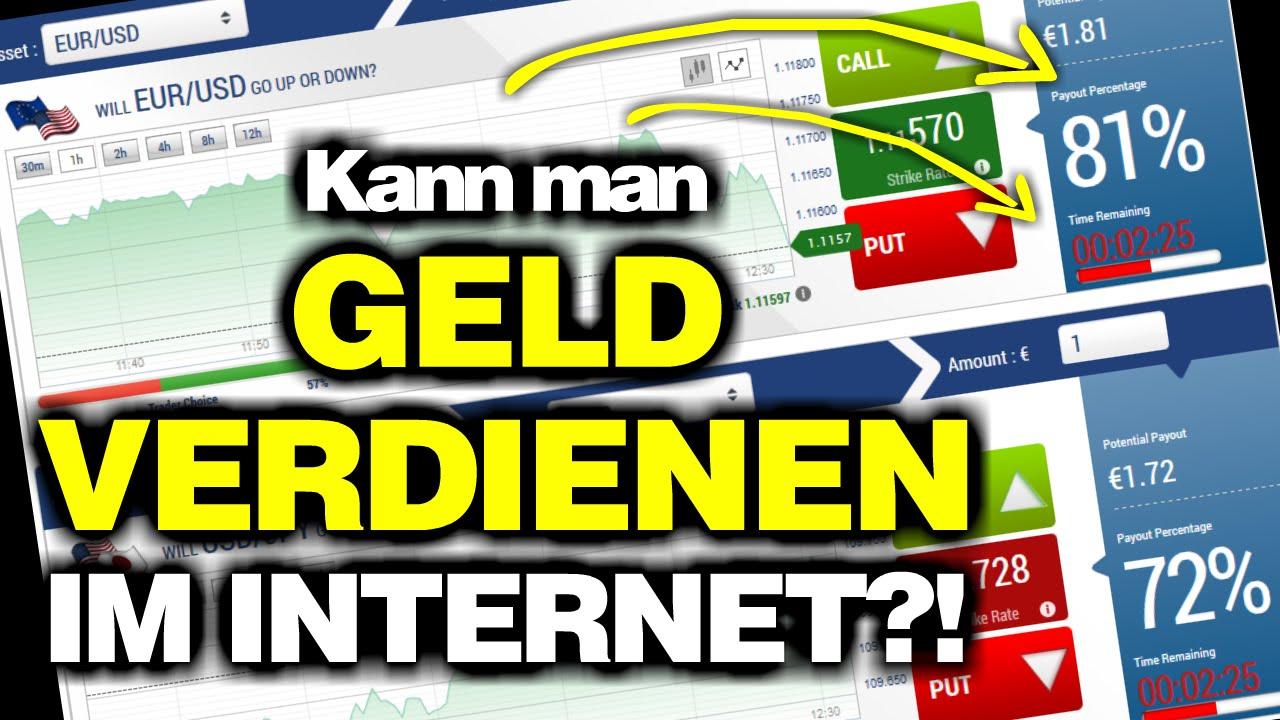 Kann Man Im Internet Geld Verdienen