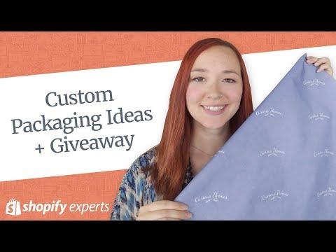 Custom Packaging Ideas + Giveaway