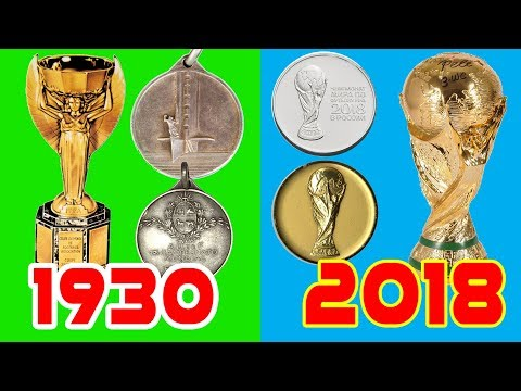FIFA World Cup Trophy Evolution II 1930-2018II Historical Collection