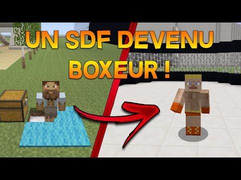 MINECRAFT FILM - UN SDF DEVENU BOXEUR ! thumbnail
