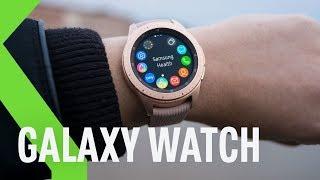 Samsung Galaxy Watch, análisis: el SMARTWATCH MÁS VERSÁTIL