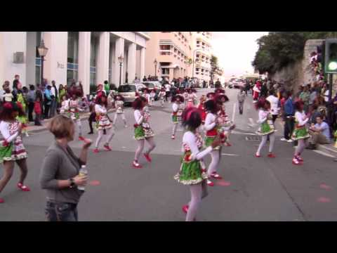 #2 St George's Original Dancerettes At Santa Parade Hamilton Bermuda November 27 2011