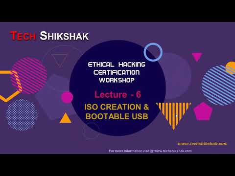 Ethical Hacking: Lecture 6 - Make bootable Pendrive and Iso File