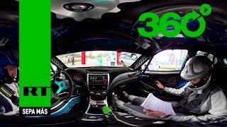 A toda velocidad en 360º : Siéntase como si estuviera compitiendo en el Rally de Moscú