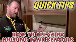 How to Clean Your RVs Holding Tank Sensors | Pete's RV Service Tips (CC)