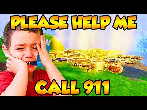 KID Almost *DIED* After *SCAMMER* SCAMS *WHOLE INVENTORY* on Fortnite Save The World!