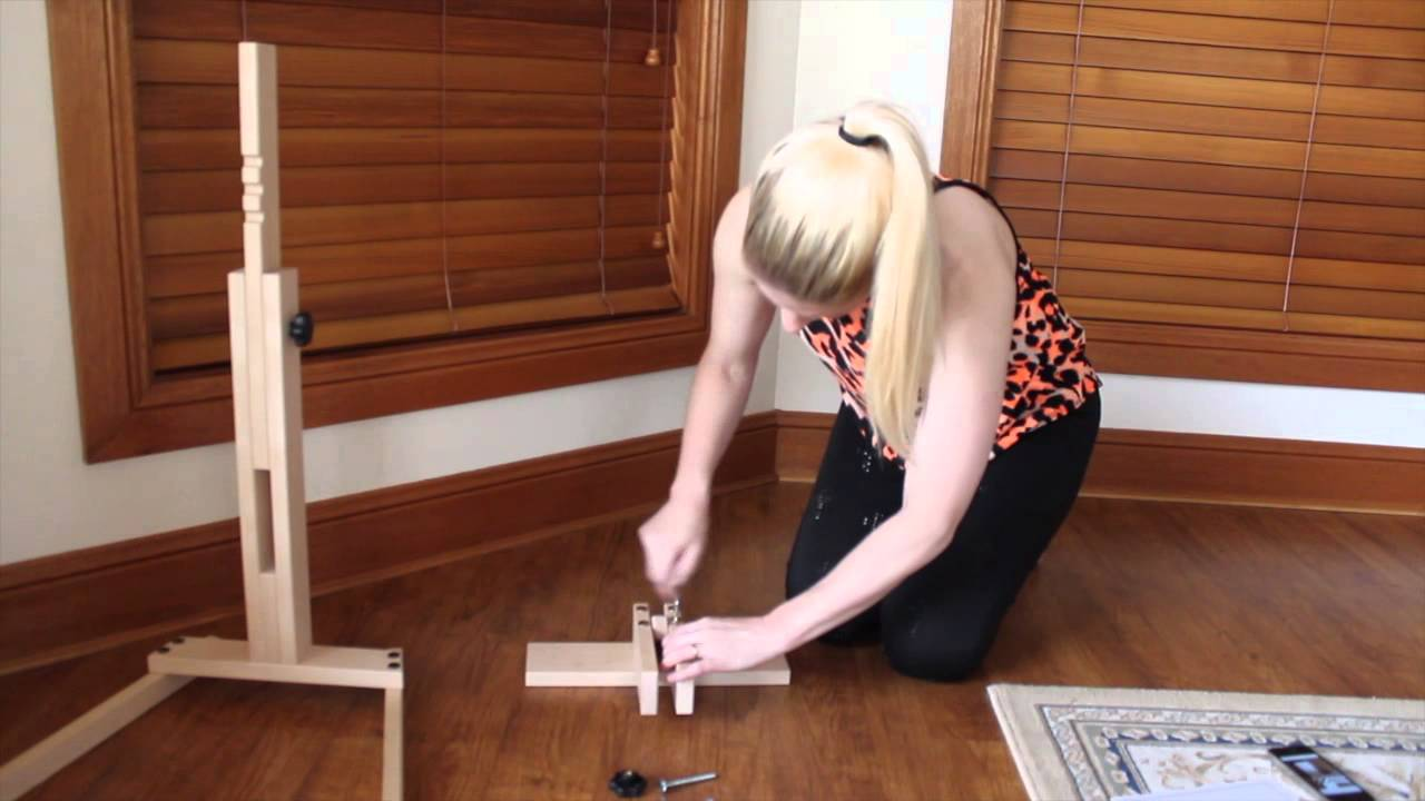 cross stitch 2 necessaire floor stand assembly youtube