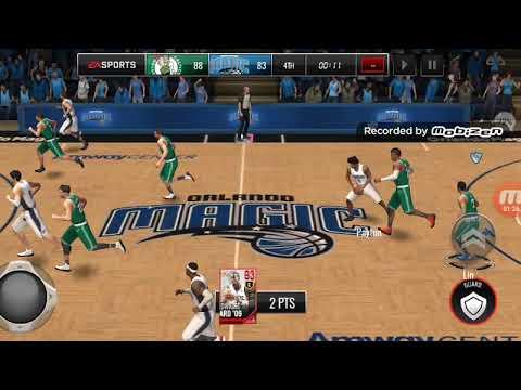 93 OVR Legendary Master Dwight Howard doing unbelievable dunks!!! Nba Live Mobile Gameplay Ep 29
