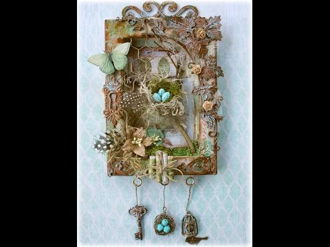 Mixed Media Nature Canvas Tutorial