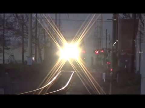 Amtrak #1 The Sunset Limited Railfanning Houston Texas