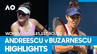 Bianca Andreescu vs. Mihaela Buzarnescu - Match Highlights (1R) | Australian Open 2021