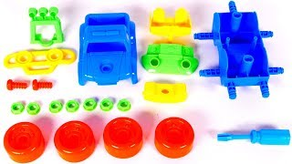 Putting Together a Monster Truck Toy Vehicle for Kids with Yippee Toys