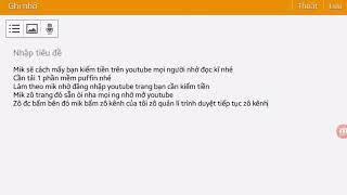 Cách kiếm nút vàng (kiếm tiền) youtube