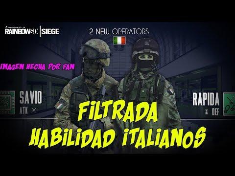 AGENTES ITALIANOS RAINBOW SIX SIEGE HABILIDAD FILTRADA | OPERATION CHIMERA | ESPAÑOL | DLC