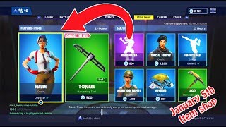*NEW* MAVEN SKIN WITH CALCULATOR CREW - FORTNITE ITEM SHOP