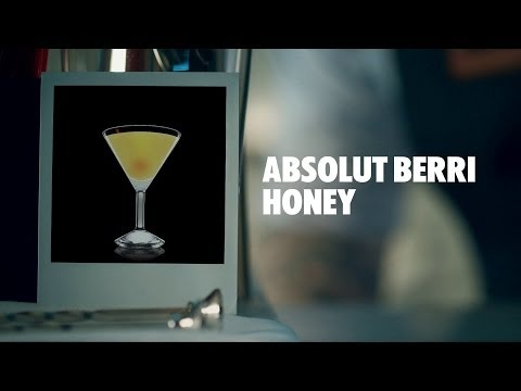 ABSOLUT BERRI HONEY DRINK RECIPE - HOW TO MIX