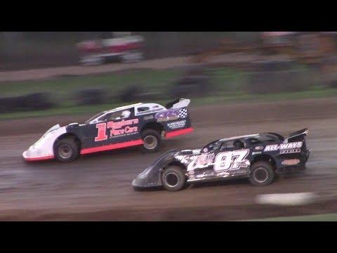 ULMS Super Late Model Heat Four | McKean County Raceway | 9-30-17