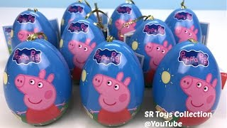 Peppa Pig Surprise Eggs Kinder Joy Hello Kitty Finding Dory Monsters Frozen Inside Out Toy Story