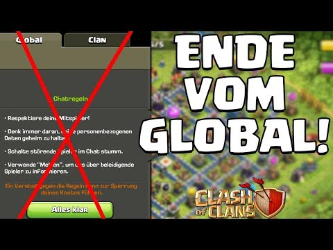DAS ENDE VOM GLOBAL CHAT! ☆ Clash Of Clans ☆ CoC