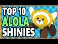 Top 10 BEST Shiny Pokemon In Sun/Moon