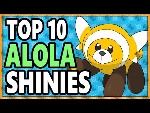 Top 10 BEST Shiny Pokemon In Sun/Moon