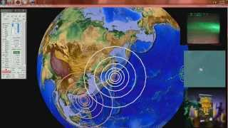 2/16/2015 -- TWO large earthquakes -- 6.9 Magnitude strikes Japan -- 6.7M in South Atlantic