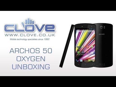 Archos 50 Oxygen Unboxing