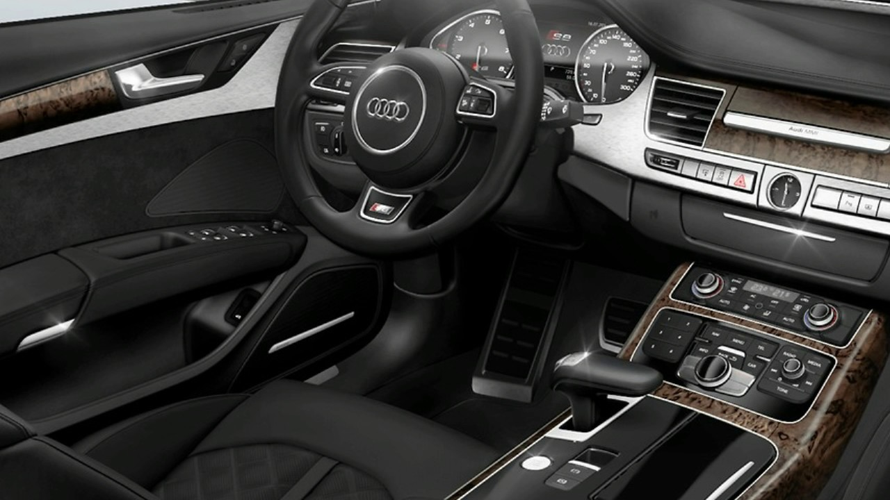 2017 audi s8 plus interior youtube. Black Bedroom Furniture Sets. Home Design Ideas