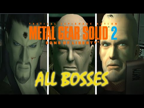 Metal Gear Solid 2: Sons Of Liberty: All Bosses