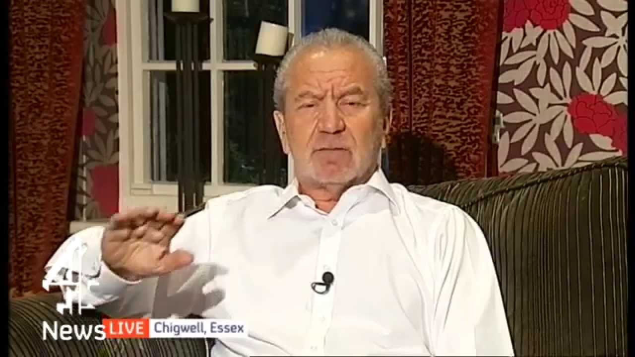 Lord Sugar discusses immigration reform   Channel 4 News