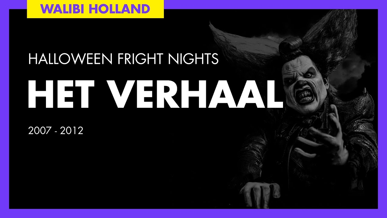 Halloween Voorleesverhaal.Walibi Holland Halloween Fright Nights The Story 2007 2012