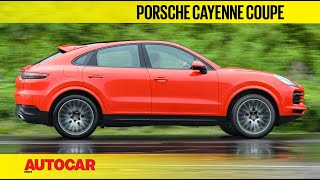 2020 Porsche Cayenne Coupe review - the glamorous Cayenne | First Drive | Autocar India