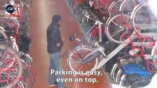 Haarlem Underground Bicycle Parking (Netherlands)