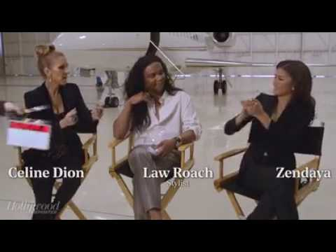 Céline Dion, Zendaya and Law Roach - The Hollywood Reporter