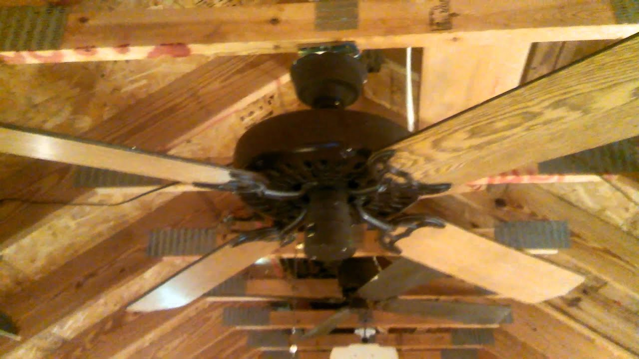 Evergo Ceiling Fan model E-8C (Hunter Original copy) - YouTube