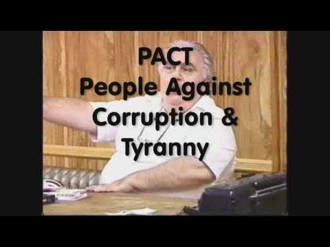 pact1 Martin Rodetsky - leading a Pact Meeting  People Against Corruption and Tyranny