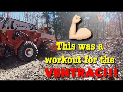 Ventrac 4500 Gravel Driveway Repair Without New Rock