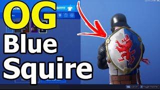 *OG* Blue Squire Fortnite Account | Make Offers :) (GONE)
