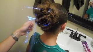 Fiber Optic Led Hair Extensions Video Tutorial