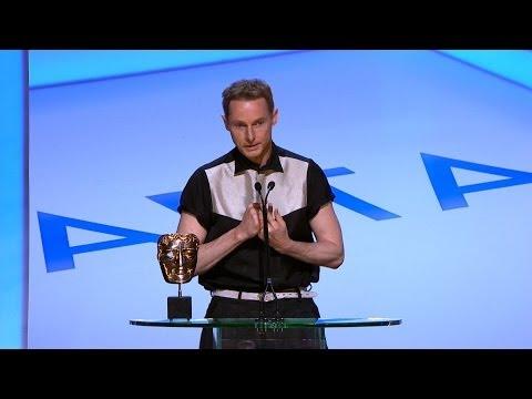 Sean Harris wins Leading Actor Bafta - The British Academy Television Awards 2014 - BBC One
