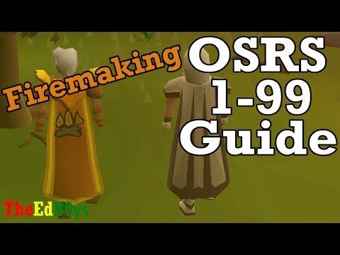 Runescape 2007 1 99 Firemaking Guide