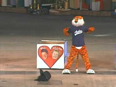 Aubie At The Mascot Finals 2007 Youtube