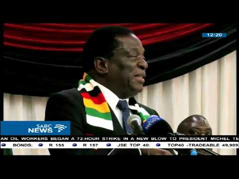 Emmerson Mnangagwa claims some in Zanu PF plotting to impeach him