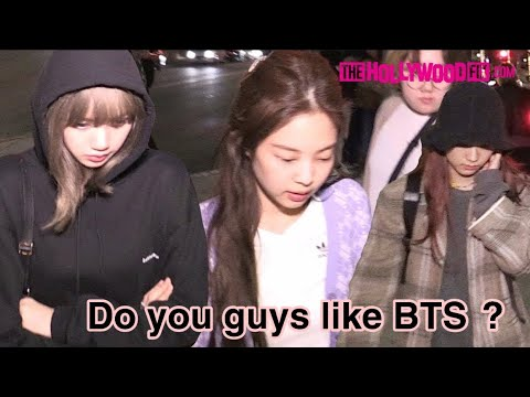 BTS and BLACKPINK [Reaction] when asked about each other ,mentioned in interviews +Bonus BangtanPink