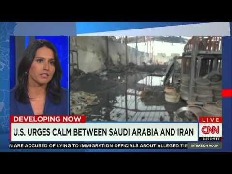 """""""Rep Tulsi Gabbard discusses role of Saudi Arabia as #1 promoter of radical Islamic extremism"""""""
