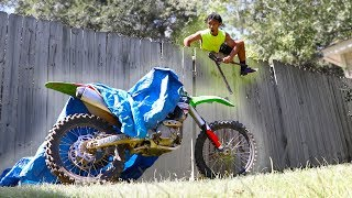 STEALING MY DIRTBIKE BACK!!